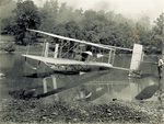 Wright Model CH Flyer floating in Miami River