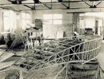 Wright Model G Aeroboat under construction