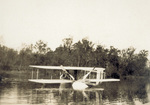 Wright Model G Aeroboat floating in Miami River