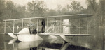 Wright Model G Aeroboat with pilots on board