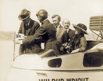 """Christening of the """"Wilbur Wright"""""""