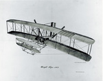 Sketch of Wright 1903 Flyer