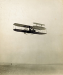 Alexander Ogilvie flying over Camber Sands