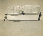 Launching Wilbur Wright and the Wright 1901 glider by Orville Wright