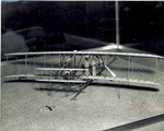 Franklin Institute model of Wright 1903 Flyer by R. H. McClaren