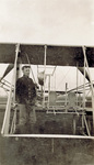 Charles Wald with Wright Model B Flyer