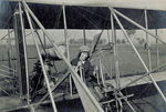 Marjorie Stinson seated in Wright Model B Flyer