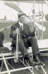 Frank Coffyn seated in Wright Model B Flyer