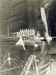 Antoinette 16-cylinder engine and propeller