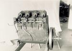 Bottom view of 1903 engine