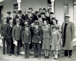 Group photograph of the Wright family