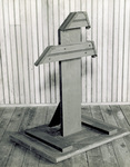 Stand used to display St. Clair bicycle