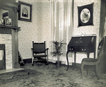 Parlor of Wright home