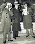 Edsel Ford, Orville Wright, and Henry Ford by M. E. Fawcett