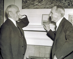 Orville Wright and Henry Ford at Hawthorn Hill