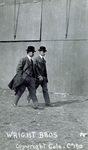 Wright Brothers walking at Belmont Park