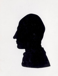 Silhouette portrait of Wilbur Wright