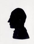 Silhouette portrait of Wilbur Wright