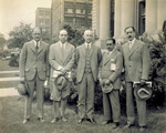 Orville Wright with South American delegates