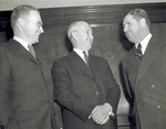 Orville Wright with George Mead and Clinton Hester