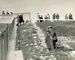 Inspecting Lockington Dam
