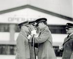 Major Kepner receives Distinguished Flying Cross