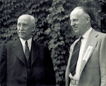 Orville Wright and Dr. William C. Dennis