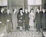 Group attending ceremonies at Denison University