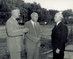 Orville Wright with Dr. Jones and Dr. Stanley