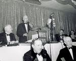 James M. Cox speaks during dinner honoring General Kenny