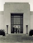 Orville Wright at Glenn L. Martin Company plant