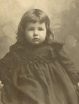 Bertha Ellwyn Wright as a child by Lauck & Allen