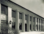 Main entrance of Ford Engineering Laboratory