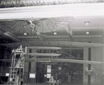 Wright 1903 Glider hanging in Science Museum