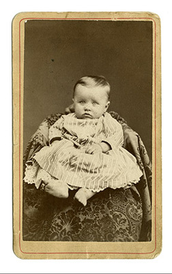 "Ms State University >> ""Portrait of Orville Wright as a baby"" by Joseph Neff ..."
