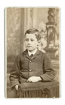 Portrait of Orville Wright at about 10 years old