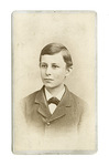 Portrait of Wilbur Wright at about 13 years old