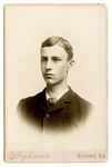 Portrait of Wilbur Wright at 17 years old