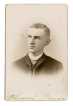 Portrait of an unidentified young man