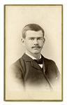 Portrait of unknown man by D. O. Adams