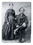 Portrait of Sarah Wright Harris and Charles Harris