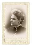 Portrait of unknown woman by Fields