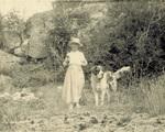 Scipio and Katharine Wright at Lambert Island