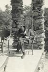 Milton Wright at Lambert Island