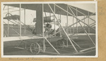 Brookins Working on Wright Flyer