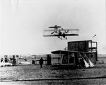 Wright Model B Flyer in Flight at Kinloch Field, St. Louis, Missouri, ca. 1912