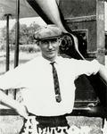 Milton Korn with Benoist XII Circa 1912