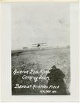 Edward Korn Landing a Benoist Airplane Kinloch Field, St. Louis, Missouri, circa 1911