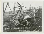 Benoist Airplane Wreck of Peter Glasser and Ray S. Wheeler at Kinloch Field, St. Louis, Missouri, May 13, 1912