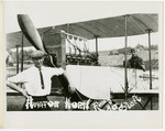 Edward and Milton Korn with a Benoist Type XII Airplane, circa 1912